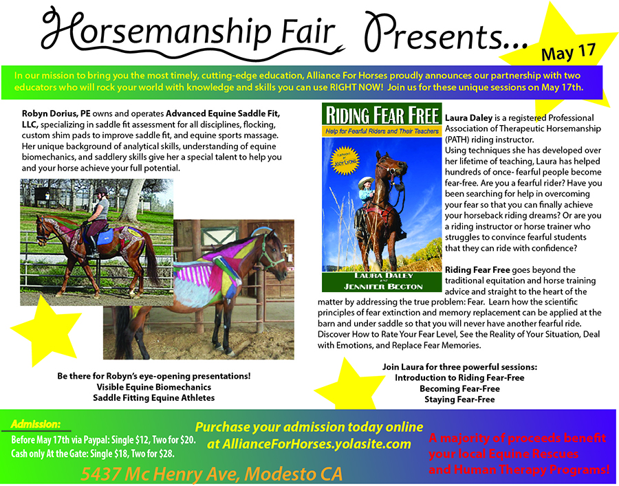 Sneak Peek: Look Who's Presenting at Horsemanship Fair
